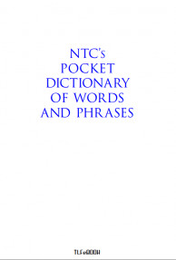 NTC'S POCKET DICTIONARY OF WORDS AND PHRASED