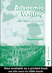 Academic Writing:A practical guide for students